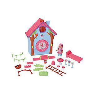 Zapf Creation Maison horloge mini Chou Chou Birdie pour mini poupée