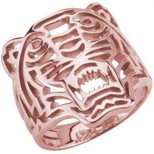 Kenzo 702156001000 - Bague en plaqué or rose