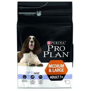 Purina Pro Plan Adult 7+ Medium et Large 14Kg - Croquettes pour chien