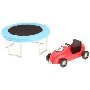 Lundby Trampoline et voiture enfant Smaland pour maison de poupée