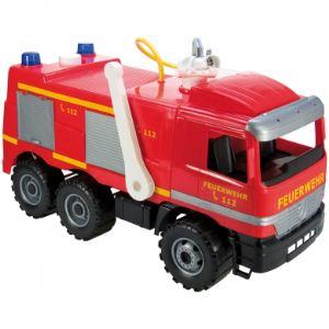 Partner jouet Camion de pompiers avec lance à eau