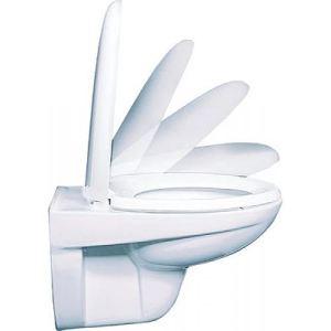 Olfa Abattant pour WC Silencéo double
