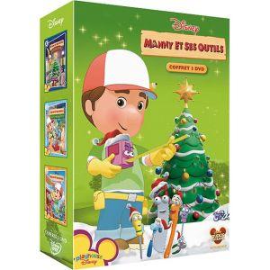 Coffret Manny et ses outils - Joyeux Noël + À la rescousse des animaux + L'as du bricolage