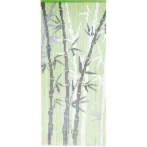 Morel Rideau de porte Bambousa en bambou (90 x 200 cm)