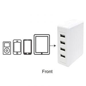 Logilink PA0097 - Station de charge de table universel 4 ports USB