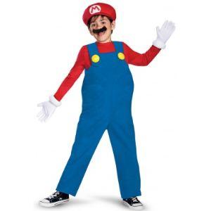 Déguisement Mario deluxe enfant (7-8 ans)