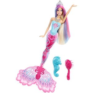 Mattel Barbie sirène couleurs