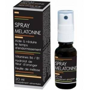 Aquasilice INNOV Spray mélatonine 20 ml