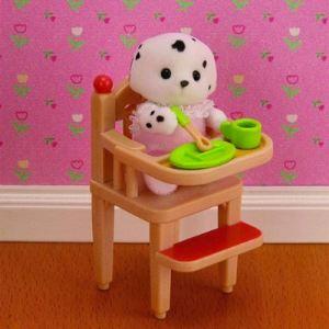 Epoch Sylvanian Families 2928 - Chaise haute pour bébé