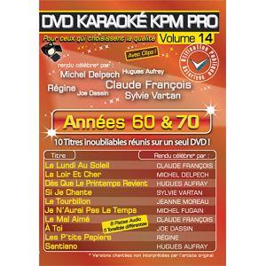Karaoké Kpm Pro - Volume 14 : Années 60 et 70
