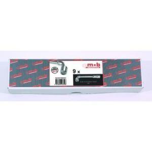 Mob 9016016001 - 16 clés à pipe 6x12 en boite
