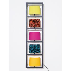 Kare Design 30426 - Applique murale WL Vertikal 5 ampoules en métal