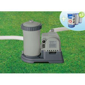 Intex 28634 - Epurateur à cartouche 9,5 m3/h + 3 cartouches