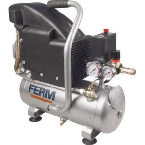 Ferm CRM1044 - Compresseur 1,1HP 750W 8L