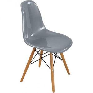 chaise gris argent comparer 89 offres. Black Bedroom Furniture Sets. Home Design Ideas