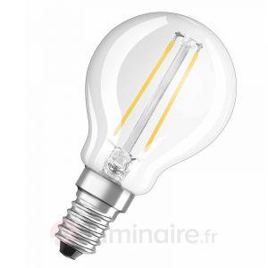 Osram Ampoule LED Retrofit sphérique E14 2W (25W) A++