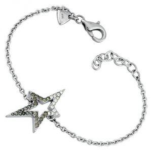 Thierry Mugler T51241NZ - Bracelet étoile Strass noirs pour femme