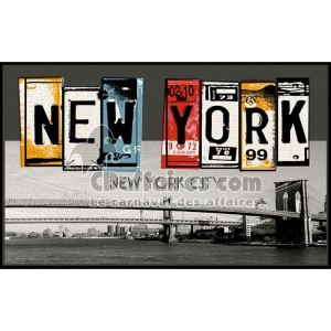 Tapis new york comparer 62 offres - Tapis deco new york ...