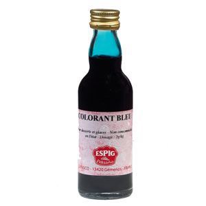 Espig Colorant alimentaire liquide bleu (50ml)