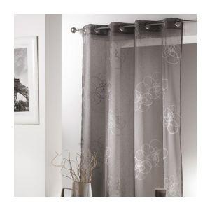 46 offres rideaux pret a poser a fleurs tous les prix. Black Bedroom Furniture Sets. Home Design Ideas