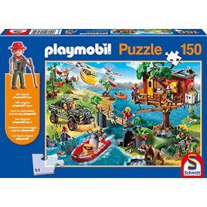 Schmidt Cabane dans les arbres - Puzzle 150 pièces