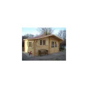 Foresta Naira NAR 5040.02 - Abri de jardin en bois 42 mm sans plancher 17,52 m2