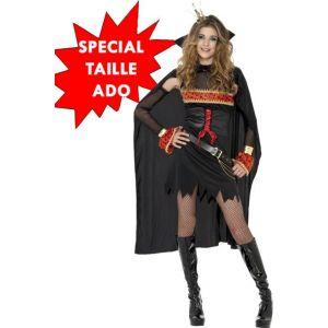 Déguisement sorcière lolita gothique