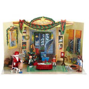 Playmobil 4150 - Calendrier de l'avent enfants et cheminée