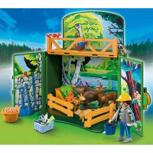 Playmobil 6158 Country - Nourriture des animaux de la forêt