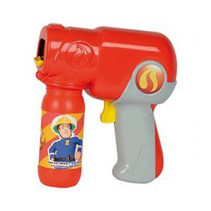 Simba Toys Pistolet à bulles Sam Le Pompier Bubble Fun