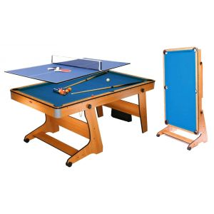 BCE Riley Table multi jeux : Billard, ping pong et fléchette