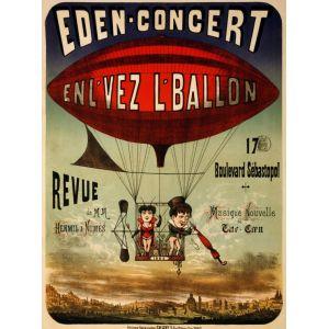Grafika Puzzle Affiche pour Eden-concert, 1884 - 2000 pièces