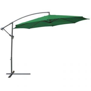 Parasol déporté 3,5 m avec housse
