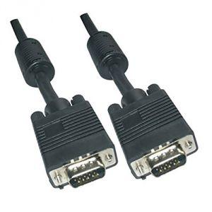 Nano cable 10.15.0110 - Câble VGA HDB15 M-M avec ferrite 10m