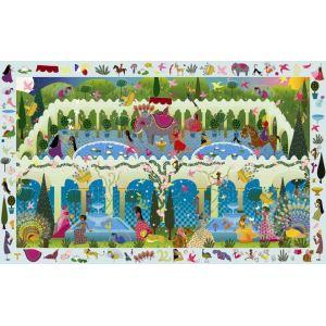 Djeco Puzzle jeu d'observation 1001 nuits + Poster 200 pièces