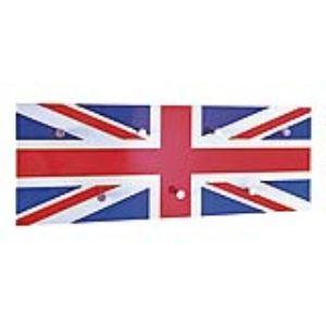 Patère murale Union Jack London en acier