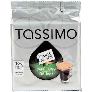 Tassimo 16 dosettes T-Discs Carte Noire Long délicat