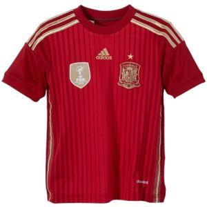 Adidas G85231 - Maillot de foot à domicile Espagne enfants