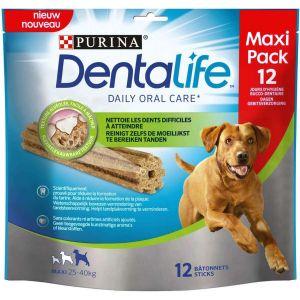 Purina Dentalife maxi 12 bâtonnets pour chien de 25 à 40 kilos