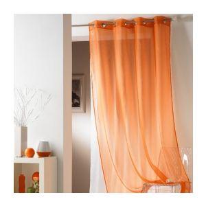 voilages orange comparer 600 offres. Black Bedroom Furniture Sets. Home Design Ideas