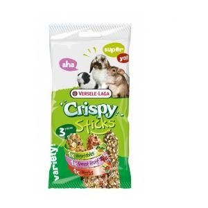 Versele Laga Crispy Sticks Triple Variety Pack Herbivores