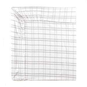 Essix Bandit - Drap housse flanelle 100% coton (160 x 200 cm)