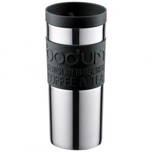 Bodum Travel mug en inox avec bouchon à vis 0,35 L Noir