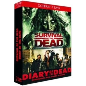 Coffret Survival Of The Dead + Diary Of The Dead