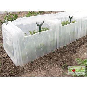 Tunnel pouss 39 vert comparer 63 offres - Tunnel de forcage rigide pour jardin ...