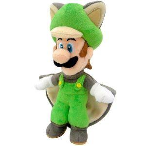 Peluche Super Mario Luigi Ecureuil 38 cm