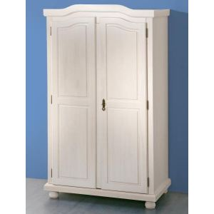 Links Armoire Hedda 2 portes en pin masif