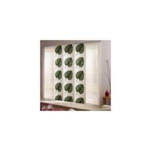 Panneau japonais Feuilles Vertes (45 x 280 cm)