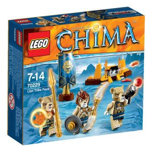 Lego 70229 - Legends of Chima : La tribu Lion