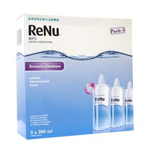 Bausch & Lomb ReNu MPS -  Solution multifonctions pour lentilles souples